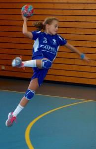 Sacha Grosclaude des 13 ans féminines