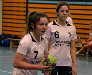 Laetitia Becker et Mélissa Wächter des 18 ans féminines.
