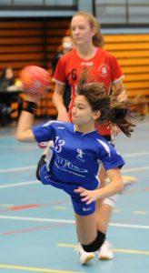 La Wissembourgeoise Chloé Dieval s'est montrée particulièrement efficace ce week-end.